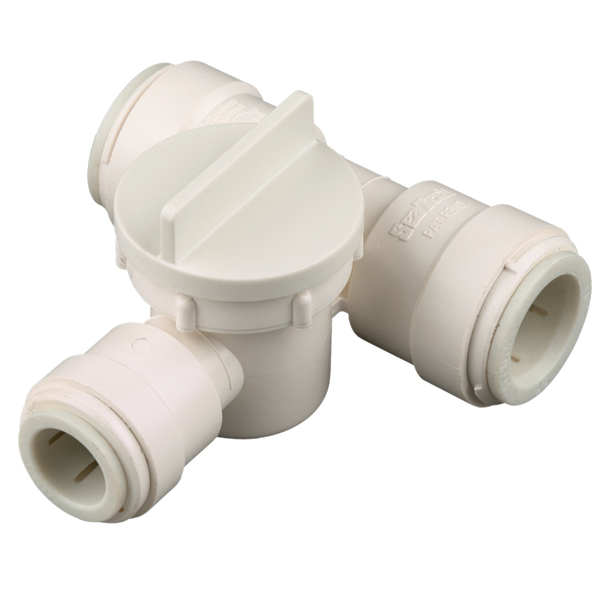 Seatech seris female tee valve large diameter fitting