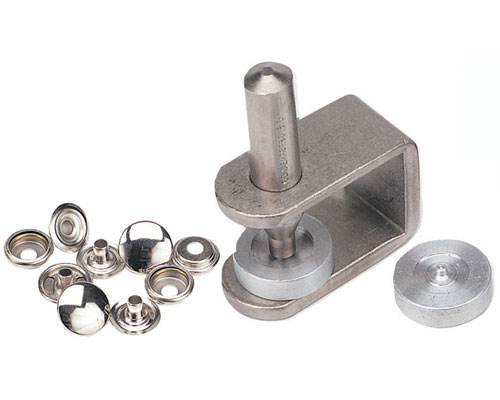 """C S  Osborne No  K230 - Snap-Fastener Kit Available in # 20 baby snaps 1/2""""  or # 24 standard 5/8"""" snaps"""