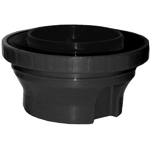 Brew-thru style Black Thermal Carafe Lid Fits all TC19 Series Thermals