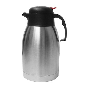 "2.0 Liter (68 oz.) Thermal Carafe Color: Stainless Steel Size: 10 3/4"" H 5 1/2"" Dia"