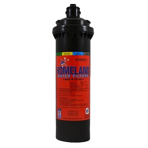 "Homeland H1KPL1 OCS 0.5 Micron Coconut Shell Carbon Water Filter. Replaces Everpure 2H-L OW2PLUS Size: 3.5"" x 12.7"" Service Life: 1,250 gal/1 yr Flow Rate: 1.5 GPM"