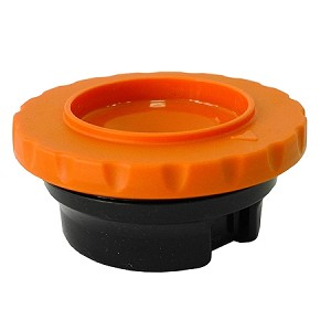 Brew-thru style Thermal Carafe Lid Fits all TC19 Series Thermals Orange (Used for DECAF)