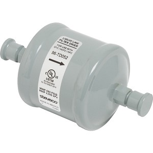 "White-Rodgers 1/4"" Male x 1/4"" Male Refrigerant Recovery Filter Drier"