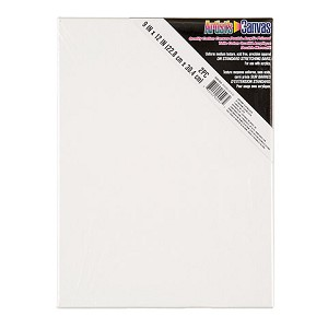 Darice 9x12 White Stretched Canvas by Studio 71, 2 pack 30061955