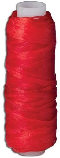 Tandy Leather Flat Artificial Sinew 20 yds (18.3 m) Red 3609-07