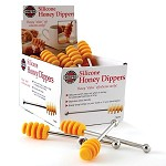 Norpro SILICONE HONEY DIPPERS, 24 PC DSP 6