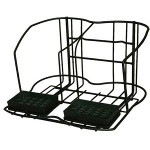 "APR2 Airpot Rack Accommodates 2 airpots and includes drip trays. Black Dimensions: 9""H x 14 7/8""W x 12 3/8""D"