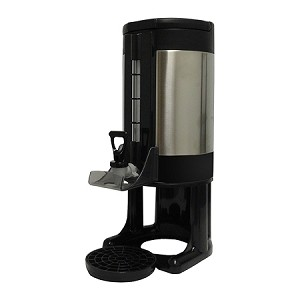 "Fits Most 1.5 Gallon Satellite Brewers. Color: Black/SS. Replacement parts available. Dimensions: 22.44"" H x 9.09"" W x 13.77"" D  Detachable Base"