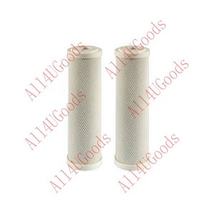 2-Pack Fits GE FX12P FX12M Smart Water RO Compatible Pre & Post Filter Cartridge