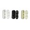 10 x Plastic Bead Chain Connector 3 Color Available ( Black / Off-White / White )