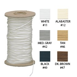 R-TEX Poly Cord, 100 Yards Roll Size: 0.9 mm (Window Coverings, Drapery, Installation, Upholstery, Shape)