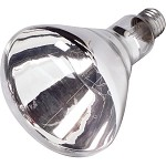 Philips Reflector 250W Heat Bulb Clear Infrared BR-40 120V