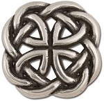Tandy Leather Celtic Filigree Round Concho 1-3/8