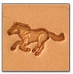 Tandy Leather Craftool Mini 3-D Stamp Running Horse 8823-00