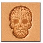 Tandy Leather Craftool Mini 3-D Stamp Sugar Skull 8863-00