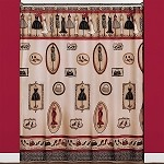 Saturday Knight Fashion Passion fabric shower curtain 70x72