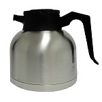 Short 1.9 Liter (64 oz.) Thermal Carafe Stainless Steel